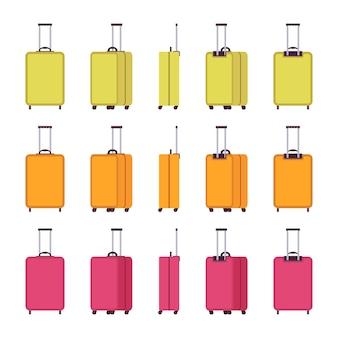 Nowoczesne walizki podróżne