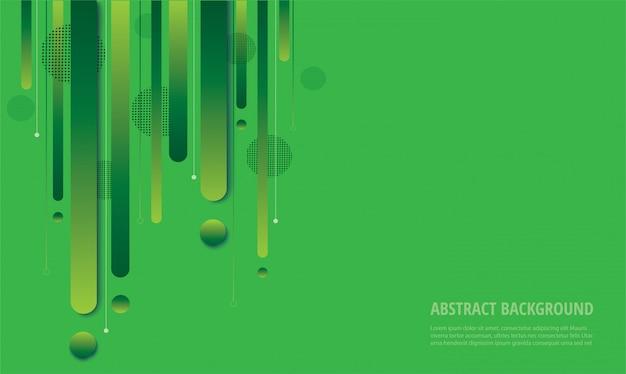 Nowoczesne zielone tło gradientowe modne