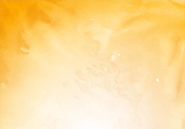 Nowoczesne żółte tło akwarela tekstury
