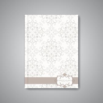Nowoczesny abstrakcyjny układ szablonu dla broszury, czasopisma, ulotki, broszury, okładki lub raportu