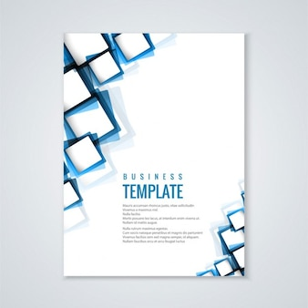 Nowoczesny biznes broszura