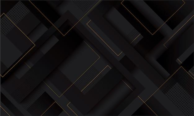 Nowoczesny czarny kwadrat gradientu modne tło