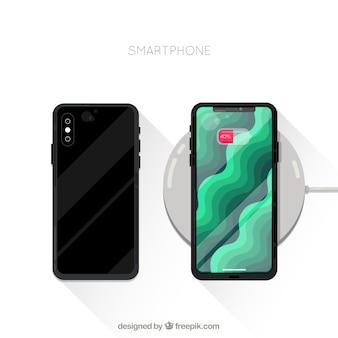 Nowoczesny design telefonu komórkowego