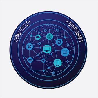 Nowoczesny design telekomunikacyjny