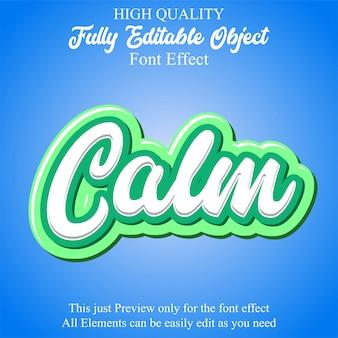 Nowoczesny, edytowalny efekt czcionki w stylu tekstu