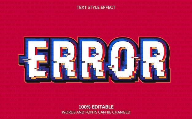 Nowoczesny efekt stylu tekstu