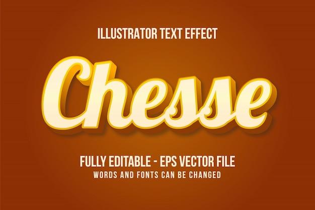 Nowoczesny efekt tekstu 3d edytowalny efekt czcionki