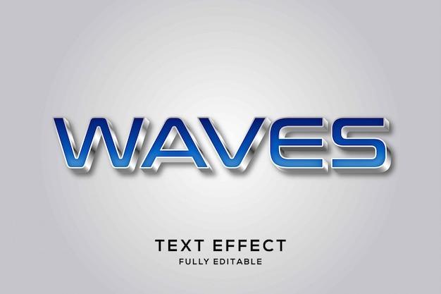 Nowoczesny futurystyczny efekt tekstowy