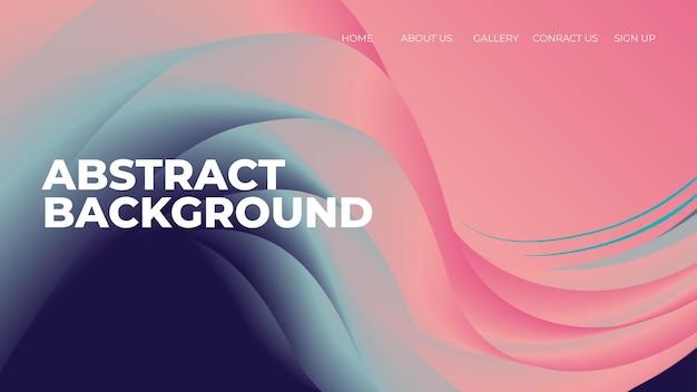 Nowoczesny kształt fali gradientowej abstrakcyjne tło