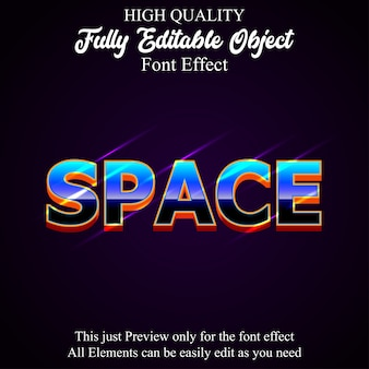 Nowoczesny, pogrubiony efekt edytowalnej czcionki w stylu tekstu