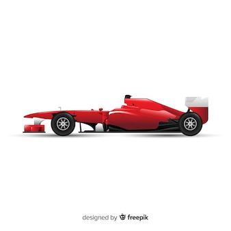 Nowoczesny projekt wyścigowy formuły 1