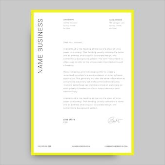 Nowoczesny prosty list motywacyjny firmy luke