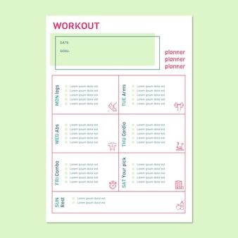 Nowoczesny, prosty program do planowania treningu sportowego