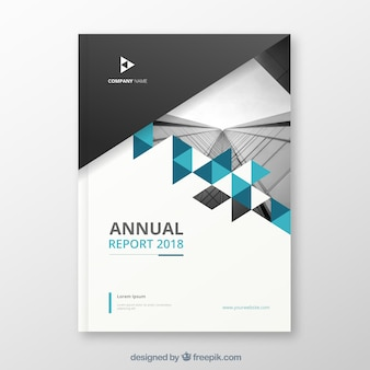 Nowoczesny raport roczny obejmuje obraz