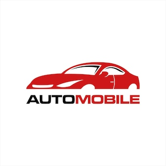 Nowoczesny samochód sportowy pomysł wektor logo