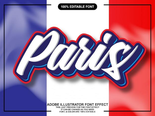 Nowoczesny skrypt edytowalny efekt czcionki typografii