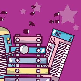 Nowoczesny sprzęt muzyczny