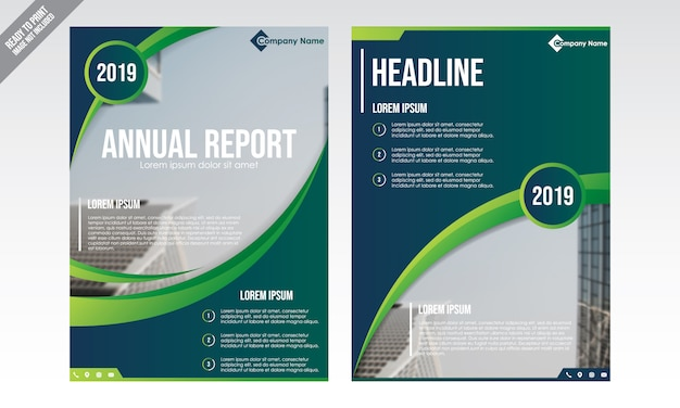 Nowoczesny szablon broszura biznesowa