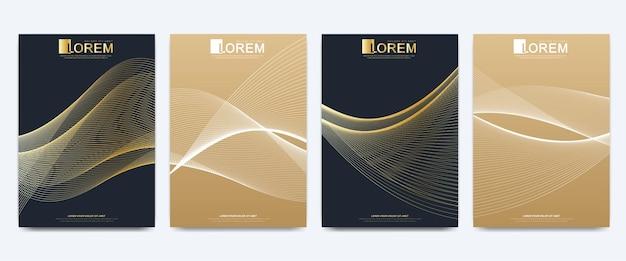 Nowoczesny szablon broszury