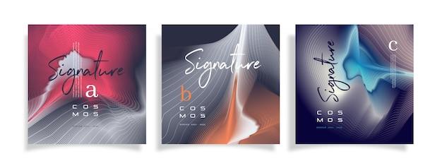 Nowoczesny szablon projektu broszury graficznej