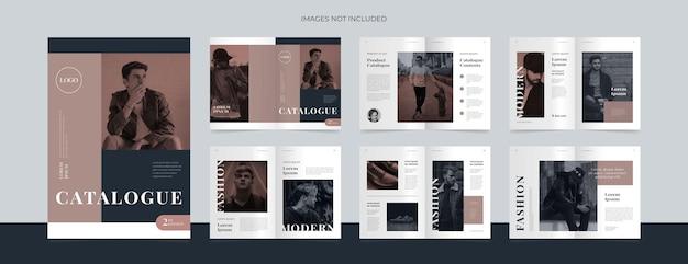 Nowoczesny szablon projektu katalogu produktów