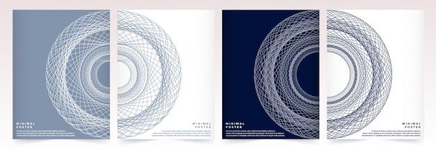 Nowoczesny szablon wektor dla broszury ulotka ulotka ogłoszenie okładka katalog magazyn lub raport roczny.