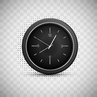 Nowoczesny zegar w tle