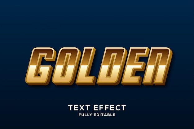 Nowoczesny złoty elegancki efekt tekstowy