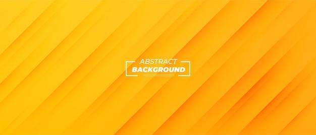 Nowoczesny żółty streszczenie transparent