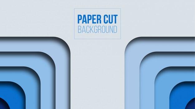 Nowożytnego abstrakta papieru tła rżnięty desgin
