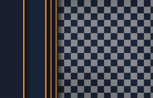 Nowożytnego czarnego abstrakcjonistycznego projekta geometryczny tło