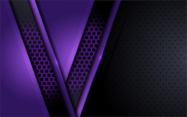 Nowożytnej techniki purpurowy tło z abstrakta stylem