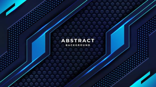Nowożytny abstrakcjonistyczny luksusowy technologii tło