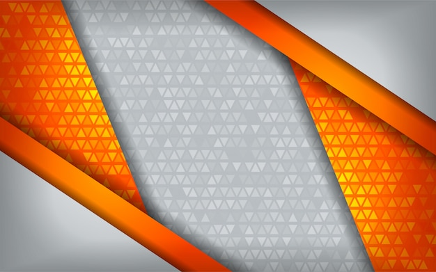 Nowożytny abstrakcjonistyczny pomarańczowy technika biel z nasunięcia tłem.