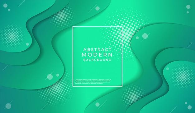 Nowożytny abstrakcjonistyczny szmaragd zieleni tekstury tło