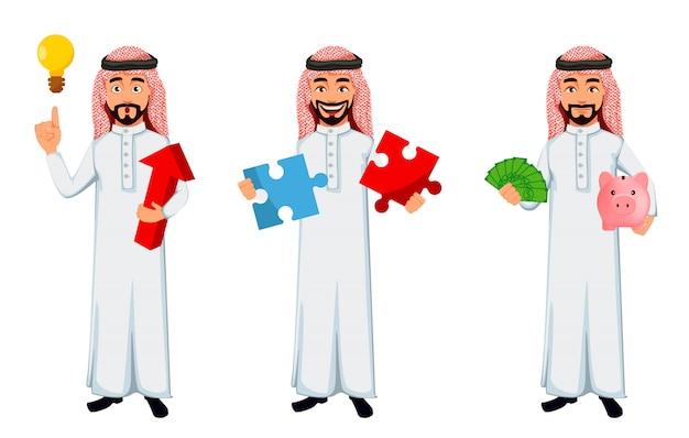 Nowożytny arabski biznesowy mężczyzna
