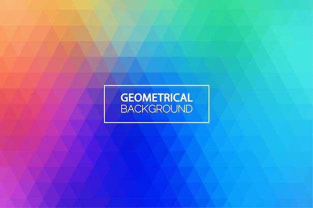 Nowożytny błękitny gradientowy geometryczny tło