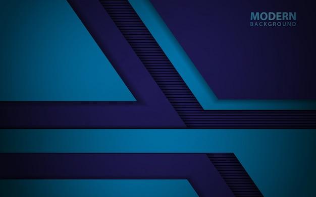 Nowożytny błękitny papier kształtuje pokrywający się tło
