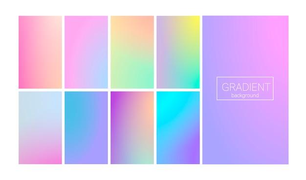 Nowożytny gradient ustawia abstrakcjonistycznego tło