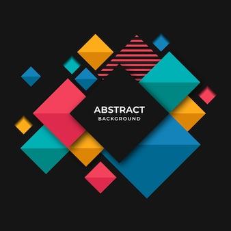 Nowożytny kolorowy geograficzny abstrakcjonistyczny tło