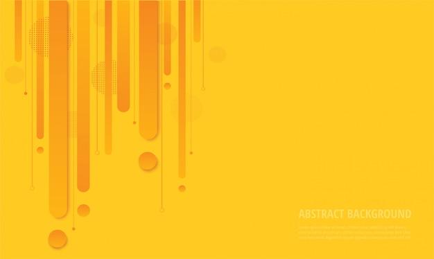 Nowożytny koloru żółtego kwadrata modny tło