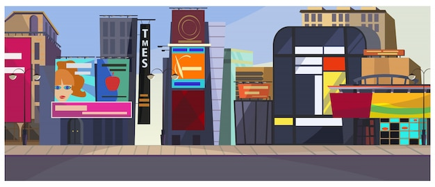 Nowy jork ilustracja miasta