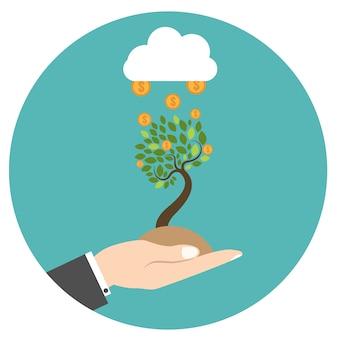Nowy model biznesowy. uruchomienie nowego projektu biznesowego.