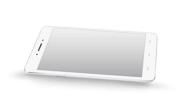 Nowy realistyczny makieta perspektywy smartphone