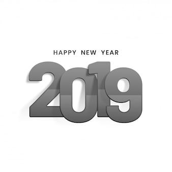 Nowy rok 2019 tło.