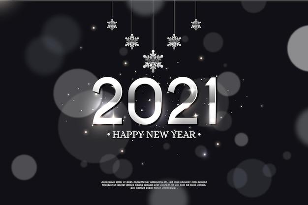 Nowy rok 2021 tło