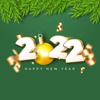 Nowy rok 2022 świętuje złoty post na instagramie i facebooku