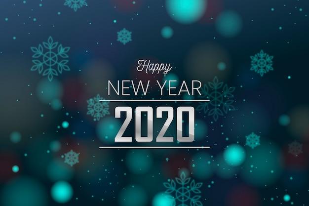 Nowy rok rozmazane tło