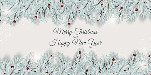 Nowy rok wakacje i wesołych świąt bożego narodzenia tło.
