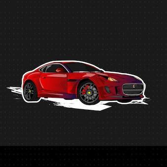 Nowy samochód sportowy 2019